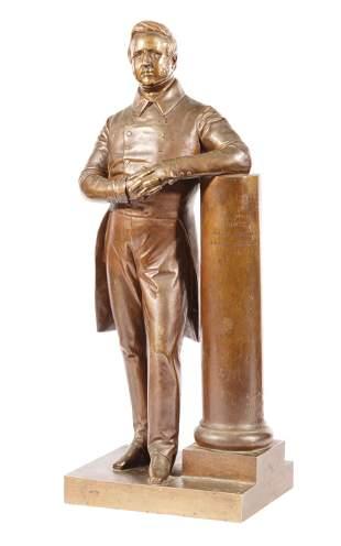 "Bronze Figure ""Comte Camille de Montalivet"""