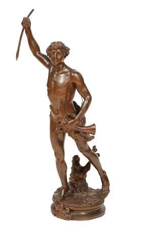 "Bronze Figure of ""Actaeon"""