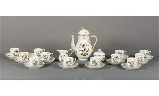 Herend Porcelain Coffee Service