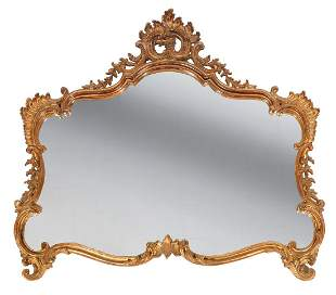 Louis XV-Style Carved Giltwood Mirrors