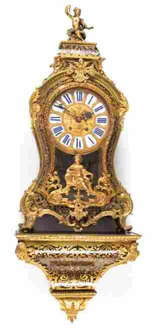 Louis XV-Style Bracket Clock
