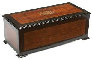 Six-Bell Twelve-Air Cylinder Music Box