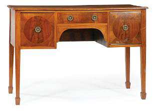 George III Inlaid-Mahogany Brandy Board