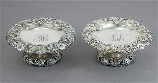 Pair of Gorham Sterling Silver Tazzas