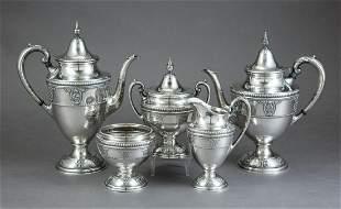 Wallace Sterling Silver Coffee/Tea Service