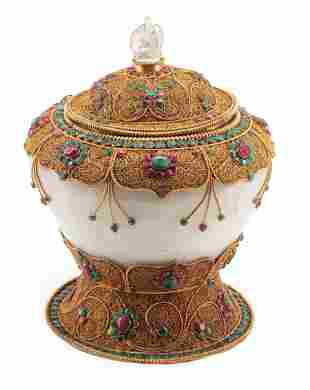 Nepalese Temple Jar