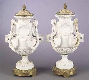 "Pair of Antique Louis XVI-Style ""Sev"