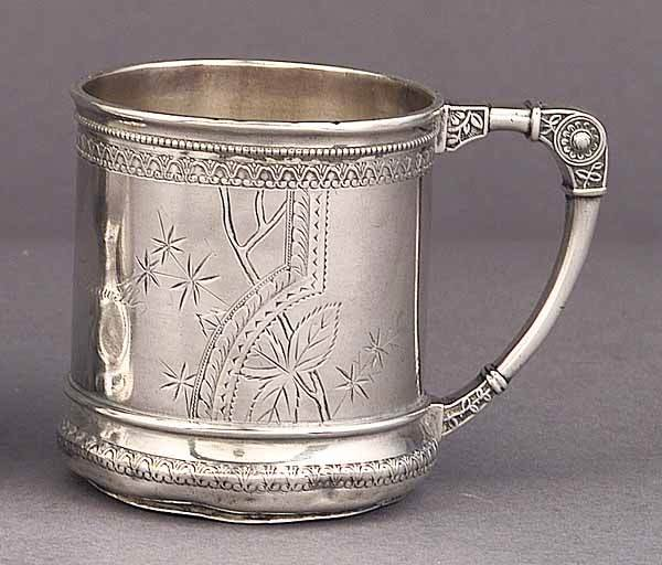 0016: American Sterling Silver Baby Cup