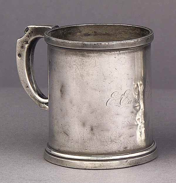 0017: American Sterling Silver Baby Cup