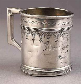 American Sterling Silver Baby Cup