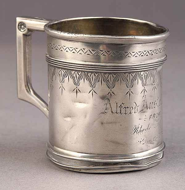 0020: American Sterling Silver Baby Cup