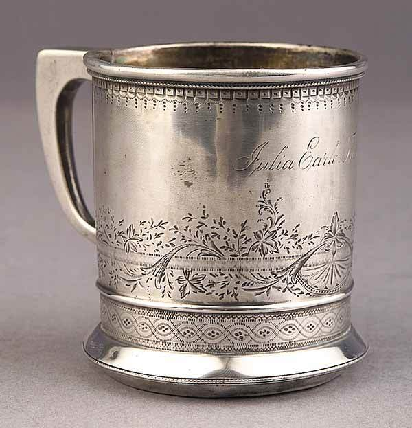 0021: American Sterling Silver Baby Cup