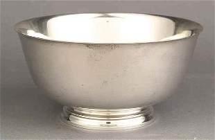 Tiffany Sterling Silver Revere Bowl