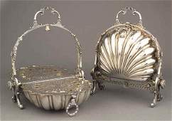 0215: Pair of Antique English Silverplate