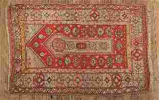 0764: Antique AnatoliPrayer Rug