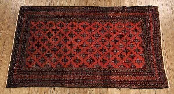 0774: Semi-Antique AfghBeluchi Carpet
