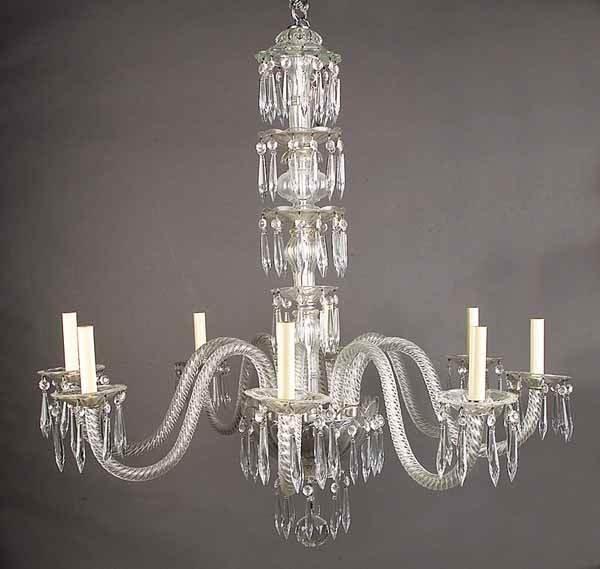 0779: Czechoslovakian Eight-Light Crystal