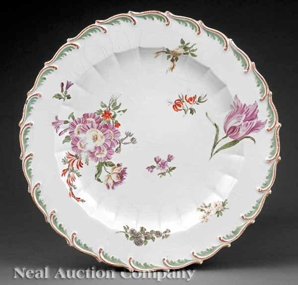 0007: Chelsea Botanical Porcelain Cabinet Plate