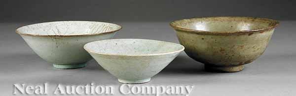 0009: Three Early Chinese Bowls