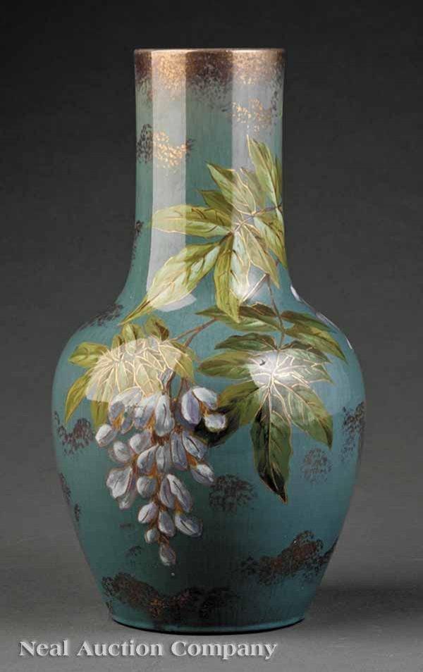0014: Vallauris Art Pottery Faience Vase