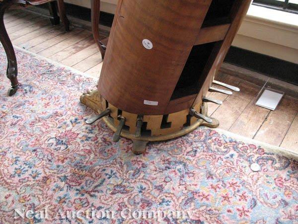 0125: J.F. Browne & Co. Giltwood Pedal Harp - 7