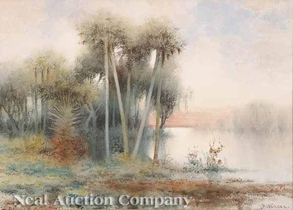 636: James Ralph Wilcox (American/Florida, 1866-1915)