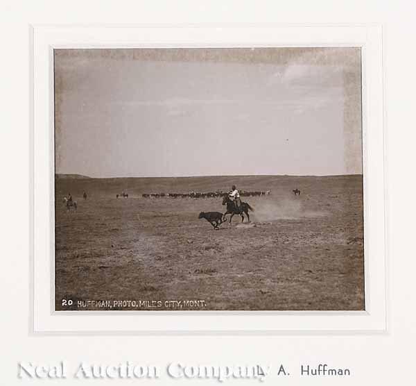 645: Laton Anton Huffmann (American/Montana 1854-1931)