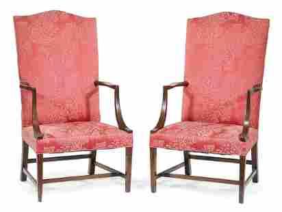 Kittinger Mahogany Lolling Chairs