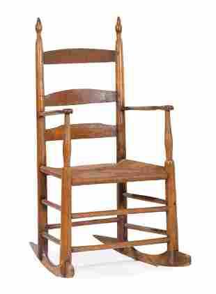 Shaker Ladder-Back Rocking Chair