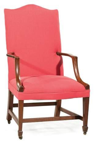 American Mahogany Lolling Chair