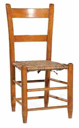 American Walnut Ladder-Back Chair