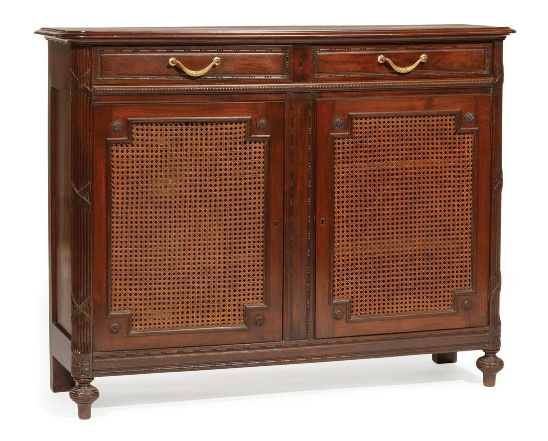 Louis XVI-Style Mahogany Buffet