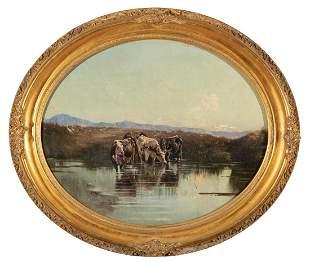 Attributed to Peter Moran (American, 1841-1914)