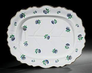 English Ironstone Well-and-Tree Meat Platter
