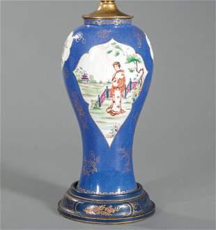 """Wedgwood """"Famille Verte"""" Porcelain Vase"""