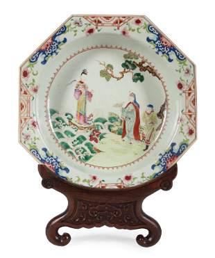 Chinese Export Famille Rose Porcelain Basin