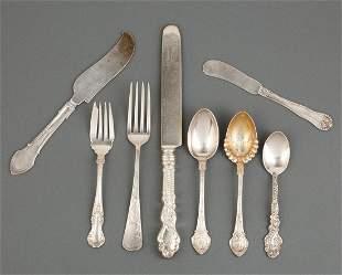 American Victorian Sterling Silver Flatware