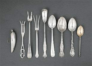 Silver and Silverplate Spoons and Forks