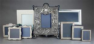Group of English Sterling Silver Picture Frames
