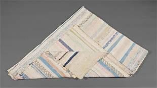 Acadian Hand-Spun and Woven Catalogna Blanket