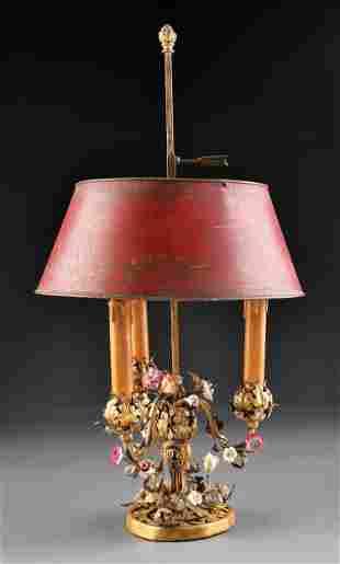 Sterling Bronze Co. Bouillote Lamp