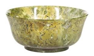 Chinese Serpentine Bowl