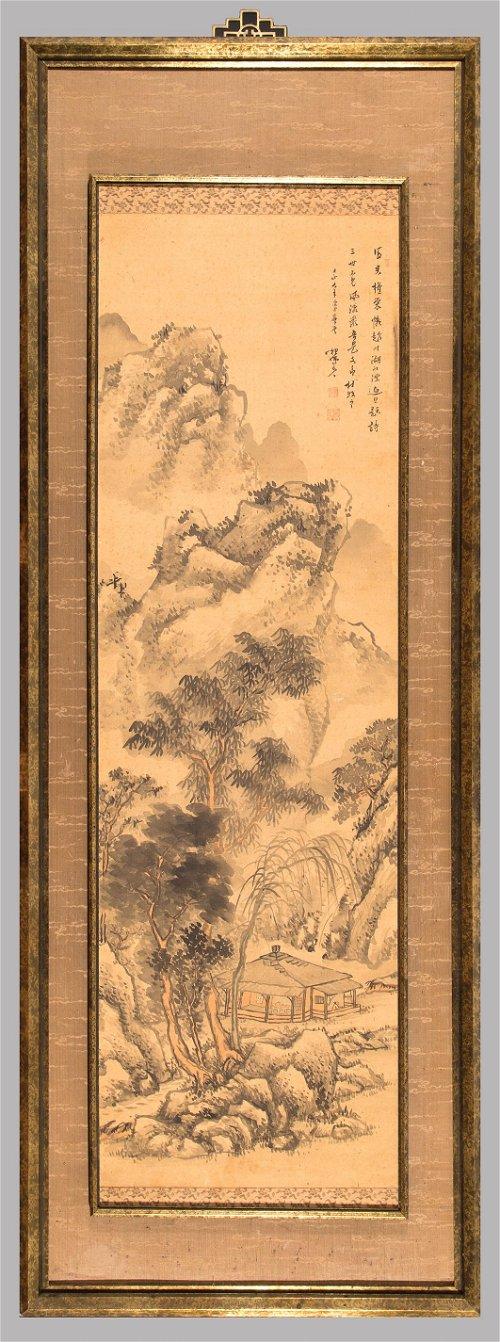 Ink Scrolls, Screens & Fan Paintings
