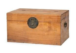 Chinese Wood Storage Chest