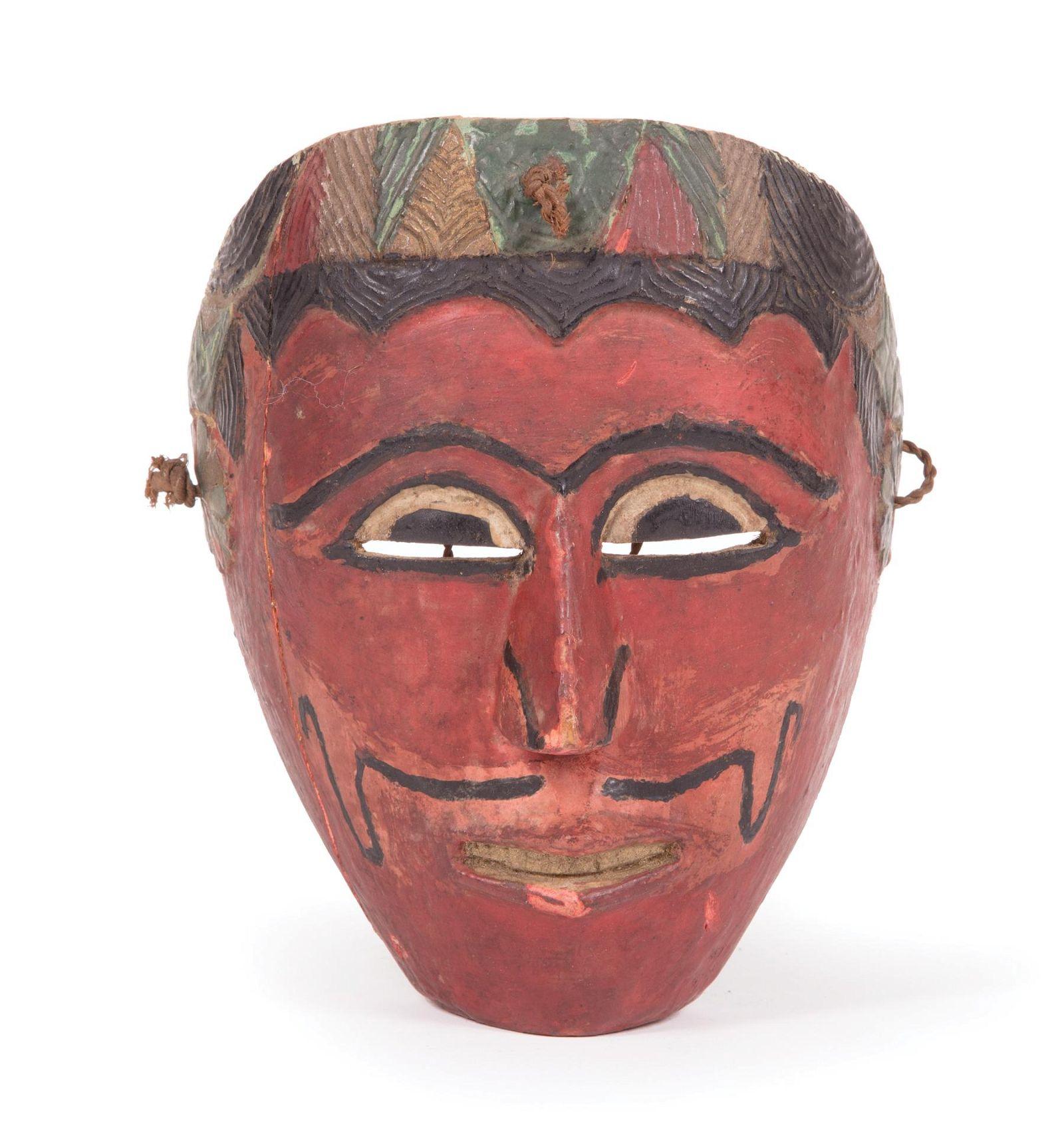 Indonesian Topeng Wood Dance Mask