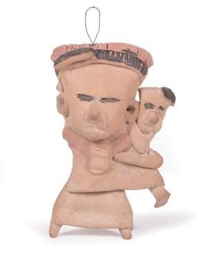 Pre-Columbian Zapotec Pottery Figure