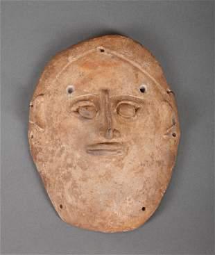 Pre-Columbian Ceramic Mask