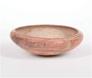 Pre-Columbian Ceramic Bowl