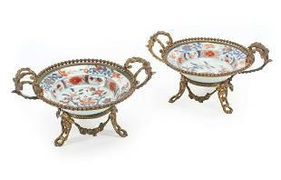 Chinese Imari Porcelain Bowls