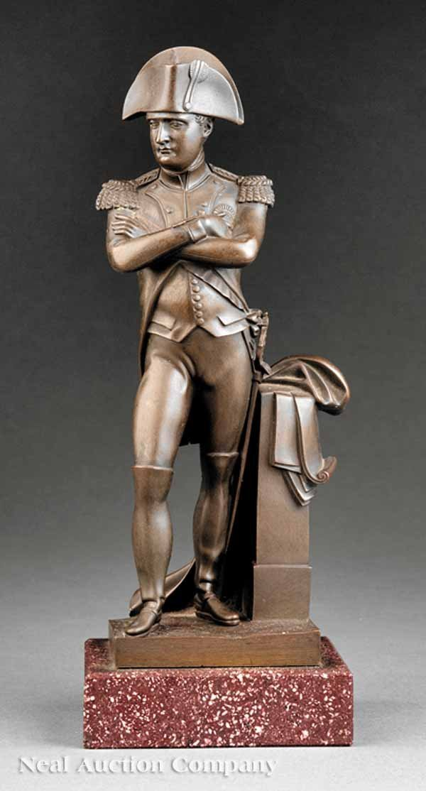 0007: French Bronze of Napoleon